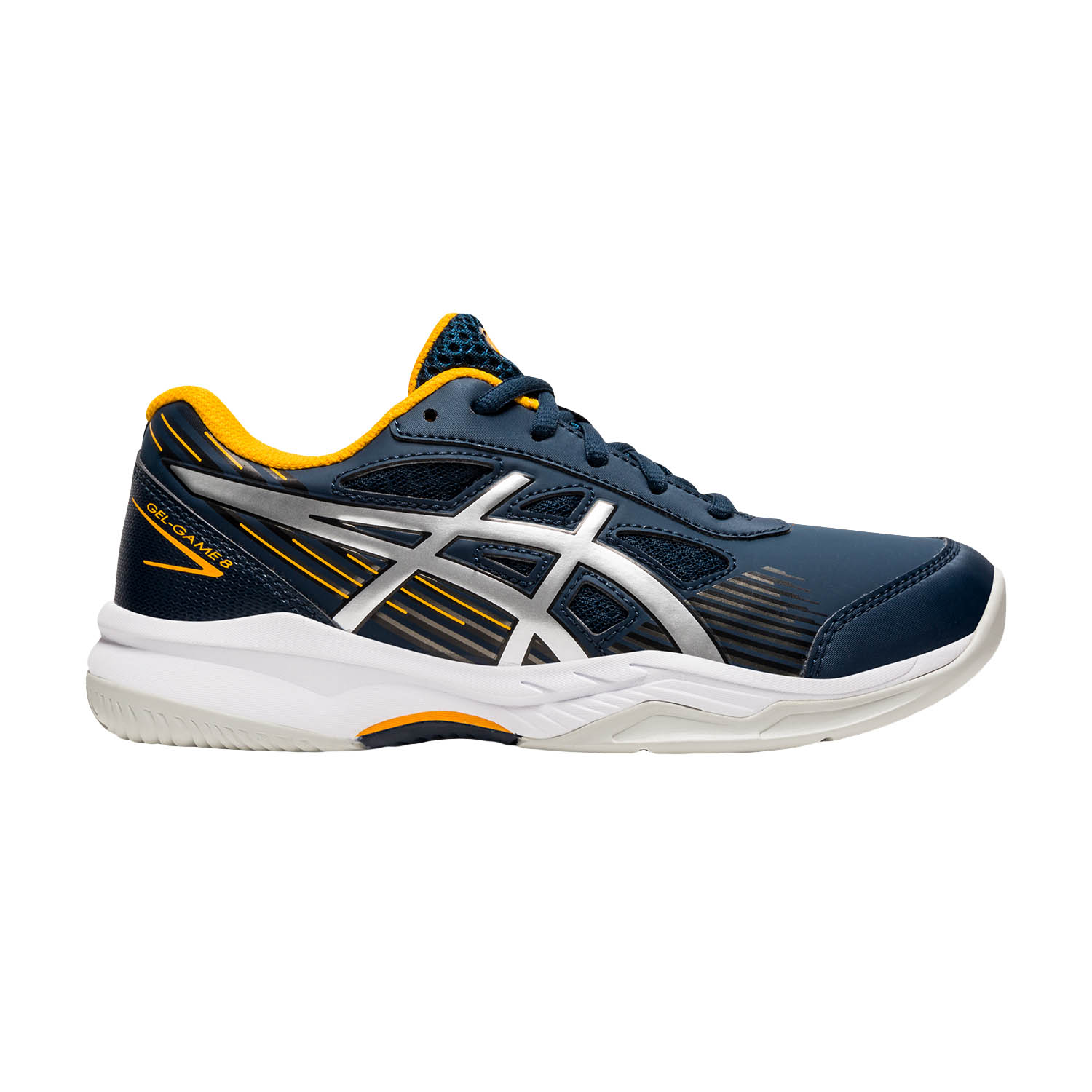 Asics Gel Game 8 GS Boy - French Blue/Pure Silver
