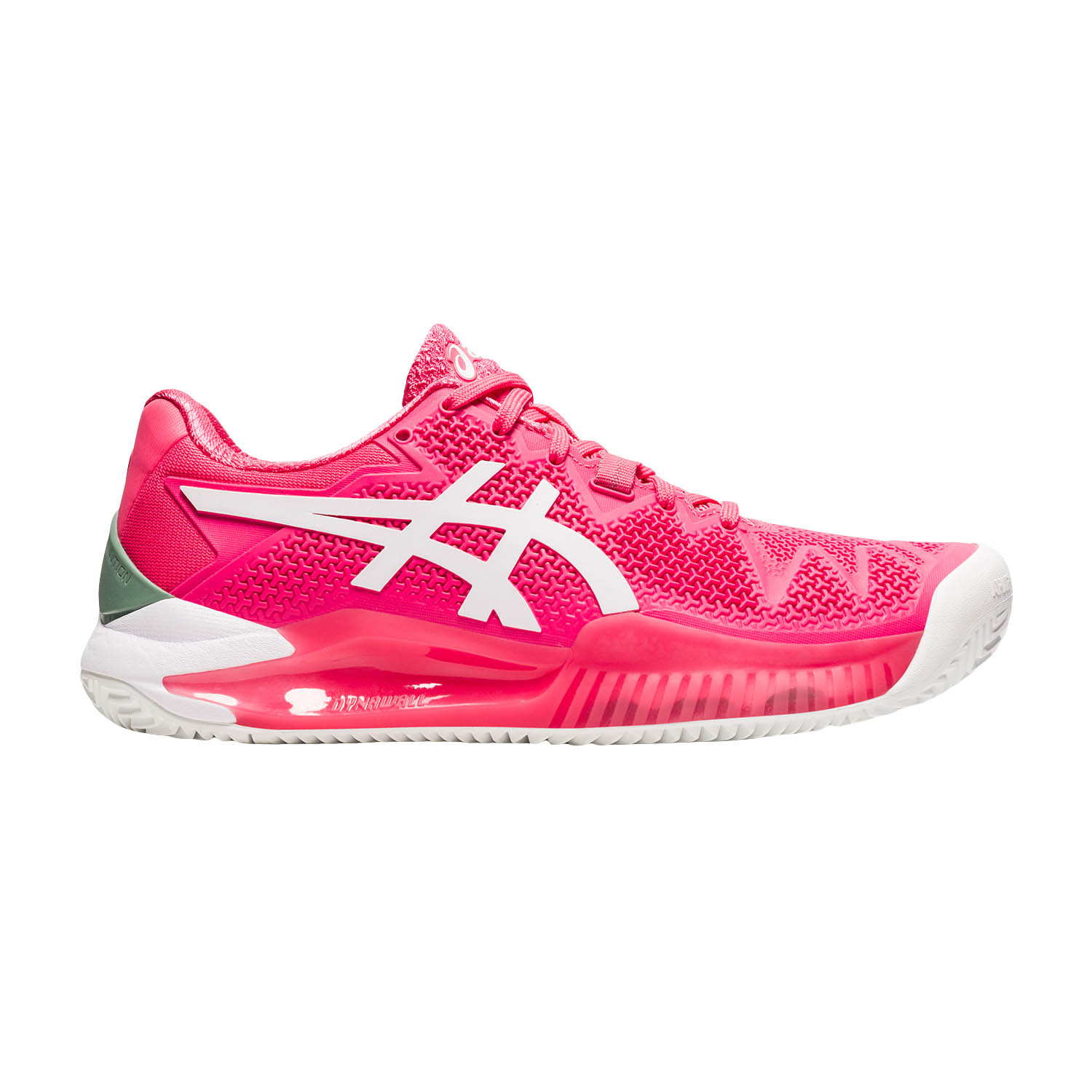 Asics Gel Resolution 8 Clay - Pink Cameo/White