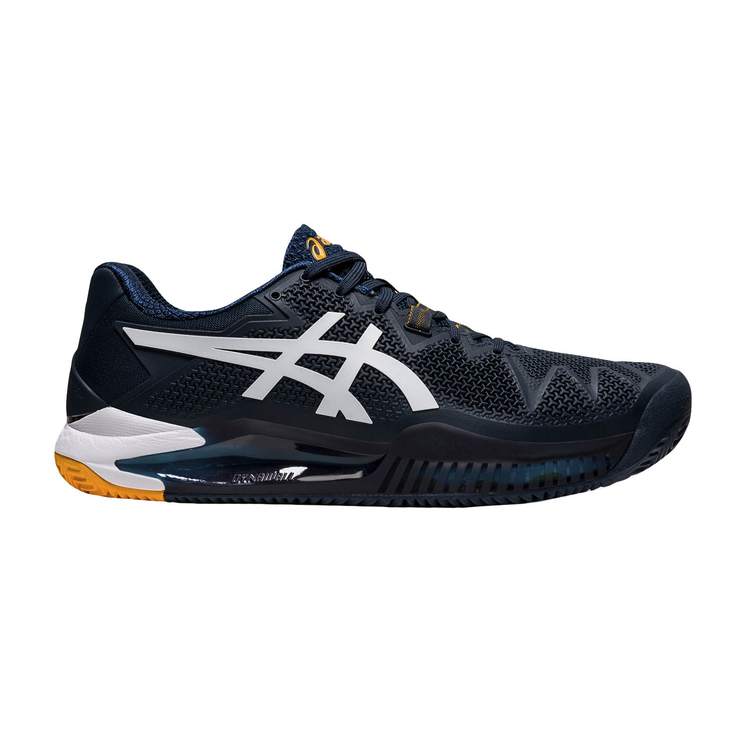Asics Gel Resolution 8 Clay - French Blue/White
