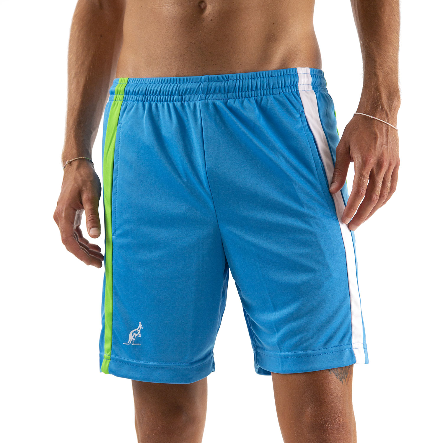 Australian Ace Lines 7in Shorts - Turchese/Bianco/Kawasaki