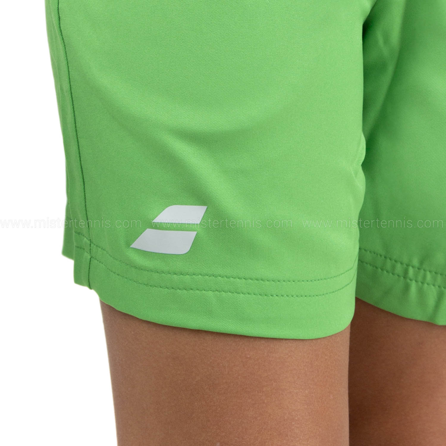 Babolat Play Club 5in Shorts Boys - Poison Green