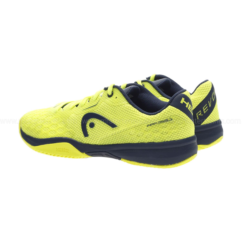 Head Revolt Pro 3.0 Niño - Neon Yellow/Dark Blue