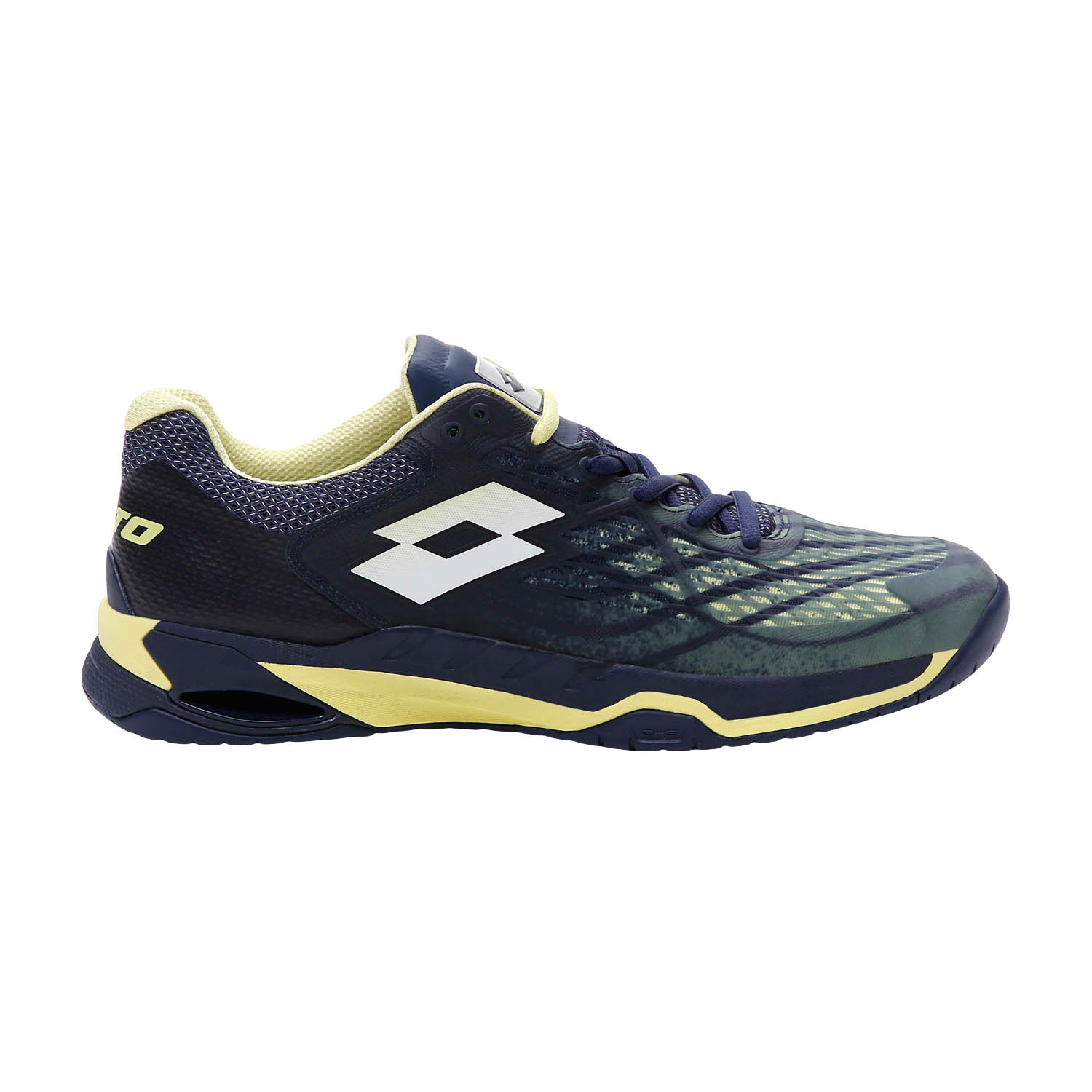 Lotto Mirage 100 Speed - Navy Blue/Yellow Neon/All White