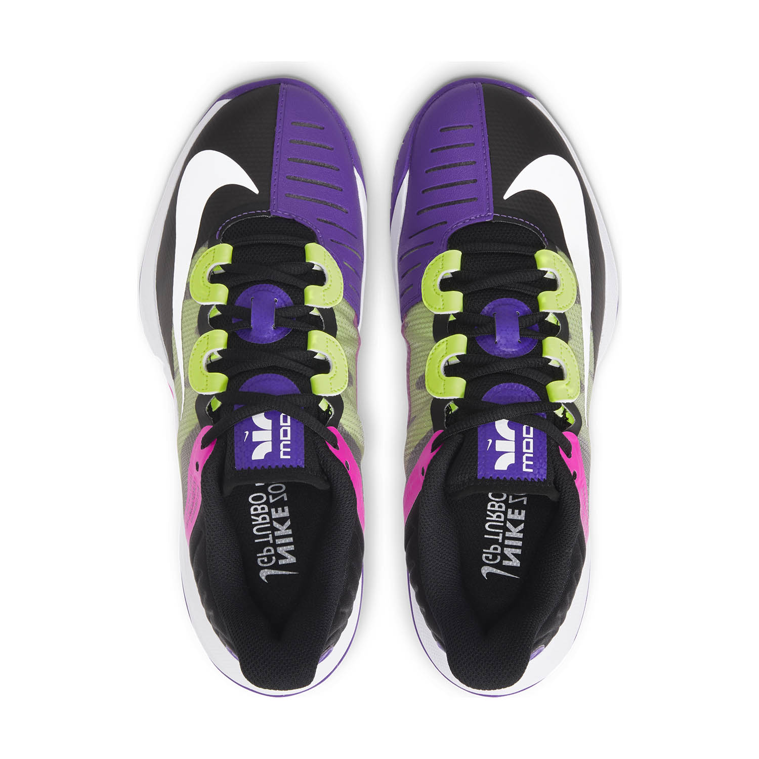 Nike Air Zoom GP Turbo HC - Black/White/Fierce Purple/Liquid Lime