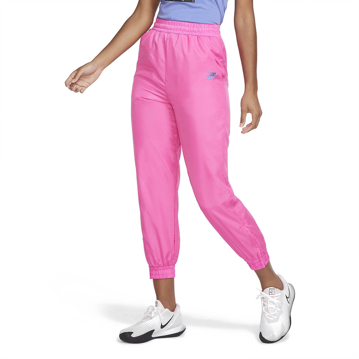 Nike Challenge Court Pants - Pink Foil/Hot Lime/White/Sapphire