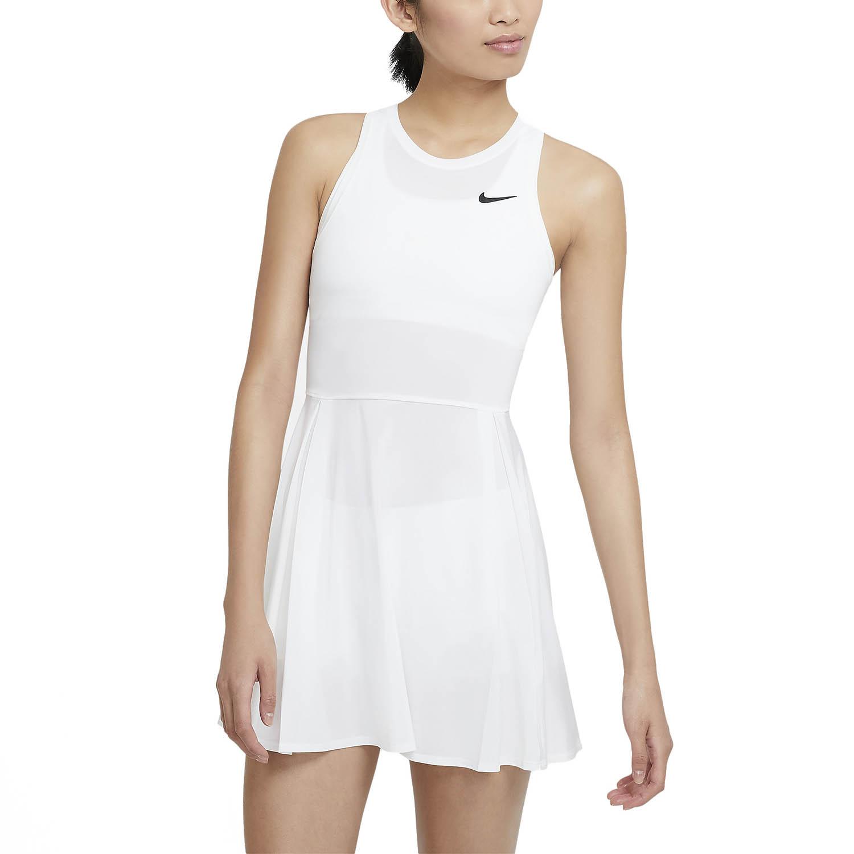 Nike Court Advance Logo Dress - White/Black