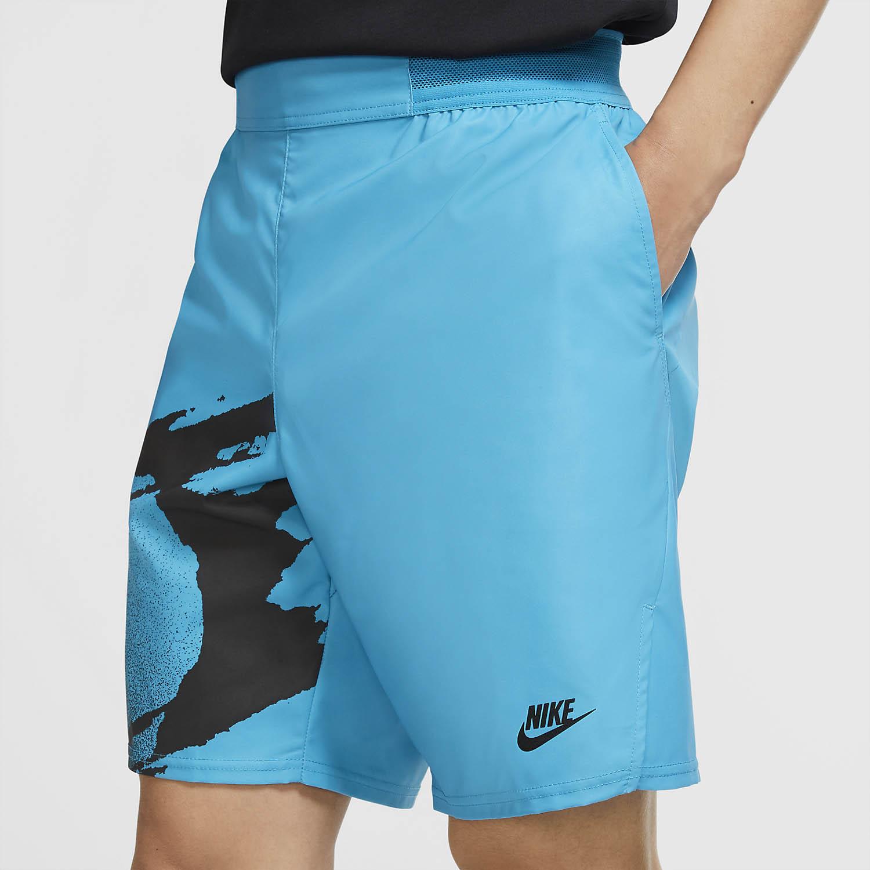 Nike Court Slam 8in Shorts - Neo Teal/Black