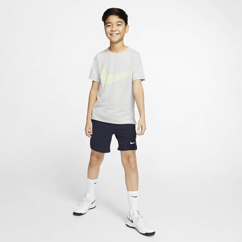 Nike Victory Flex Ace 6in Shorts Boy - Obsidian/White