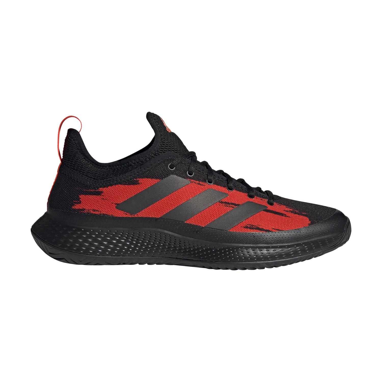 Adidas Defiant Generation - Core Black/Solar Red