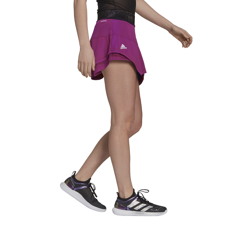adidas Match Primeblue Skirt - Scarlet/Semi Night Flash
