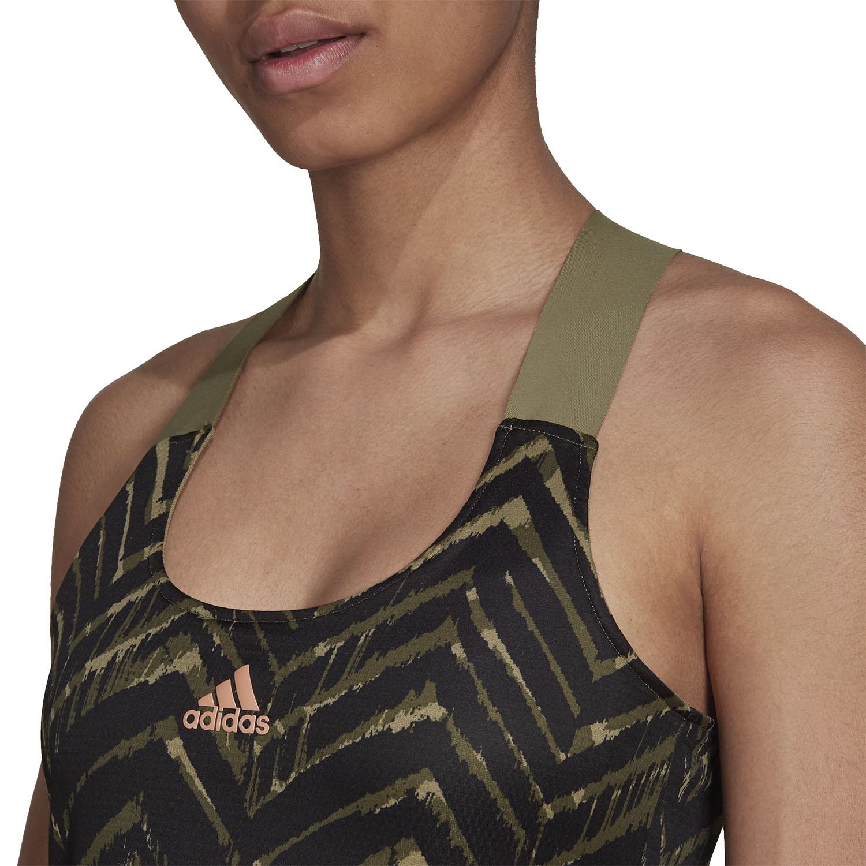 adidas Primeblue Dress - Orbit Green