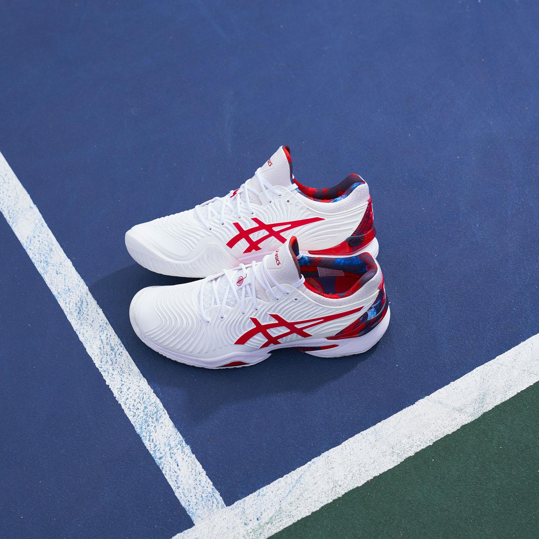 Asics Court FF Novak L.E. - White/Classic Red