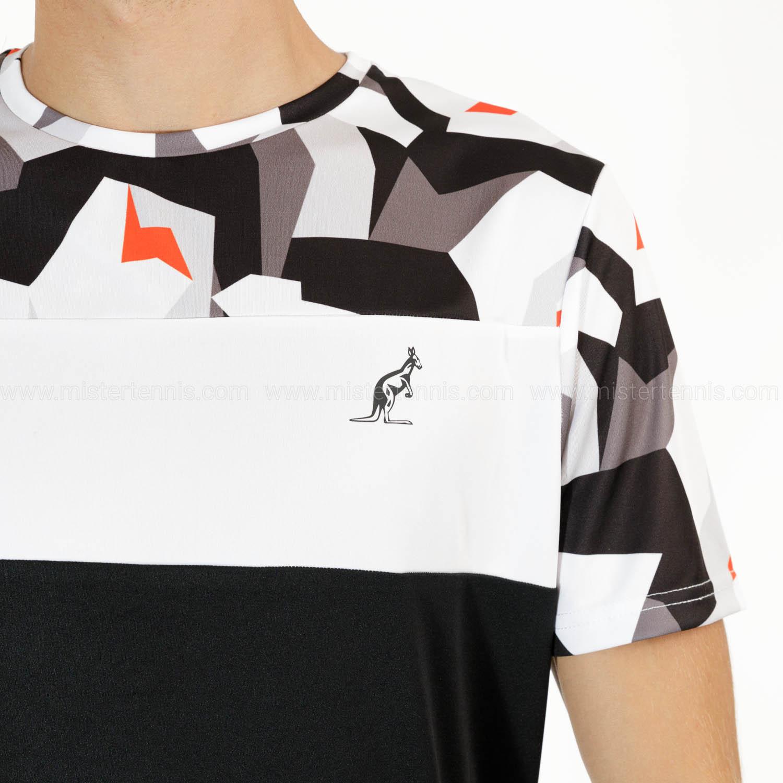 Australian Ace Camo T-Shirt - Nero