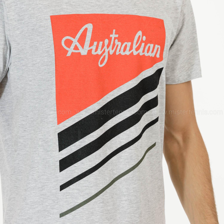 Australian Graphic T-Shirt - Grigio Melange