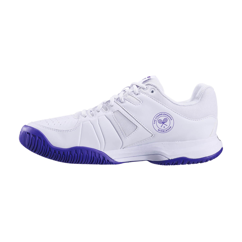 Babolat Pulsion All Court Wimbledon - White/Purple