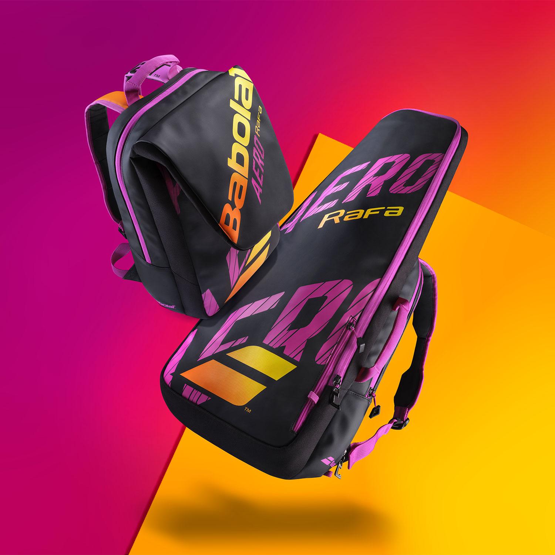 Babolat Pure Aero Rafa Backpack - Black/Orange/Purple