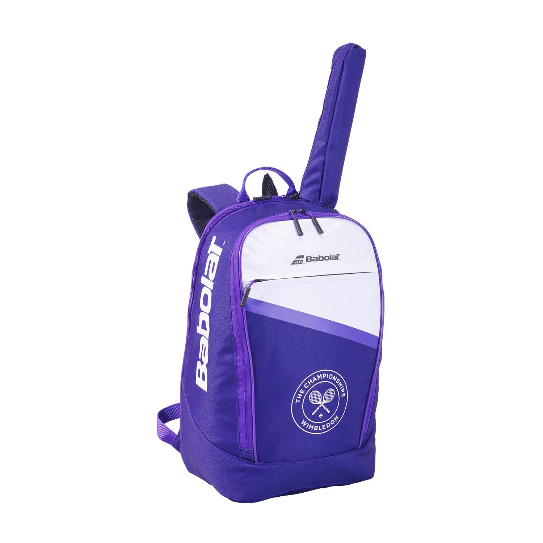 Babolat Club Wimbledon Backpack - White/Purple