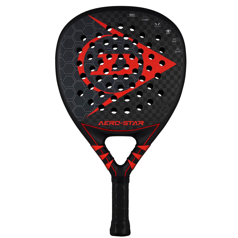 Dunlop Aero Star Padel - Black/Red