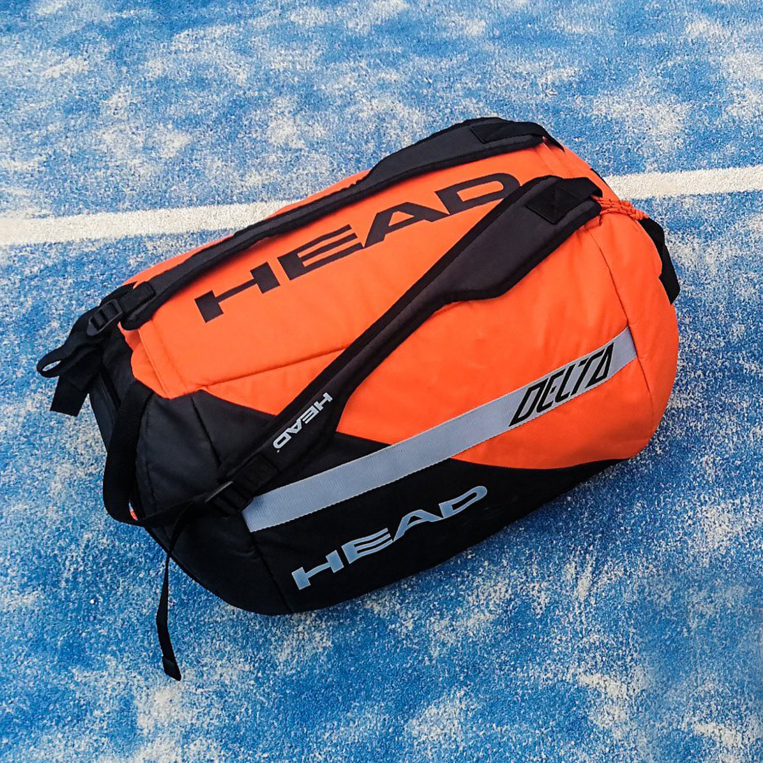 Head Delta Sport Duffle - Orange/Black