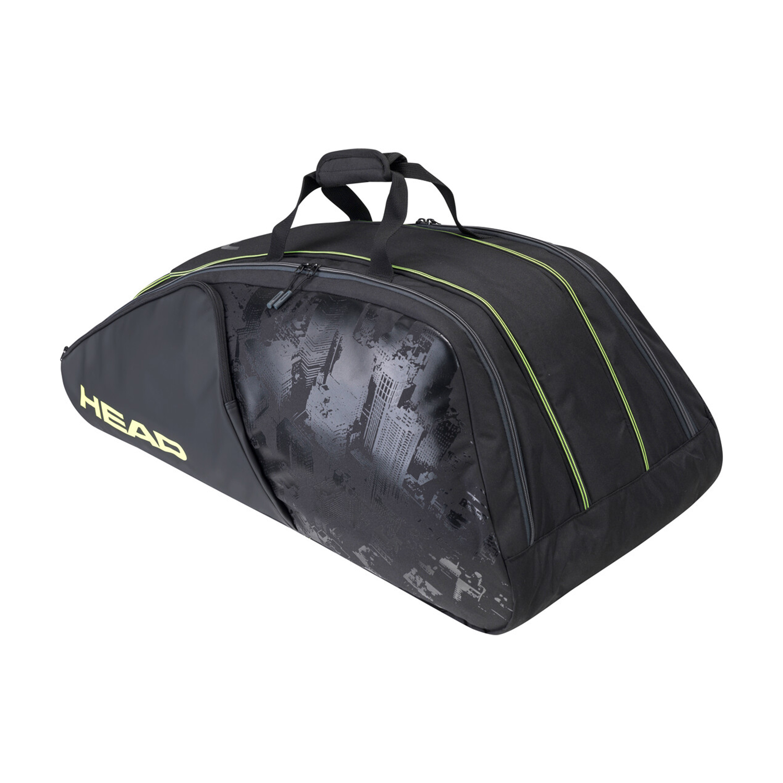 Head Extreme Nite x 12 Monstercombi Bag - Black/Neon Yellow