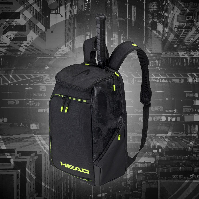 Head Extreme Nite Backpack - Black/Neon Yellow
