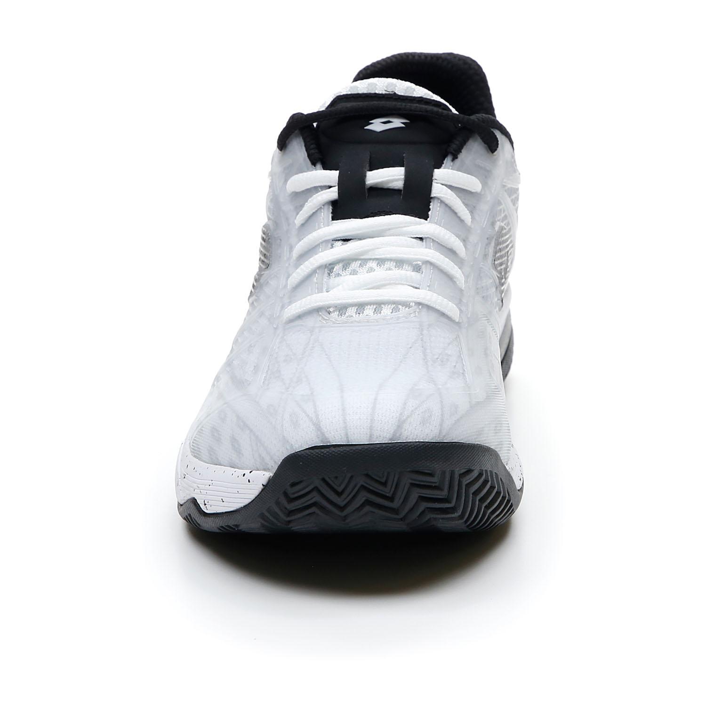 Lotto Mirage 300 Clay - All White/All Black/Vapor Gray