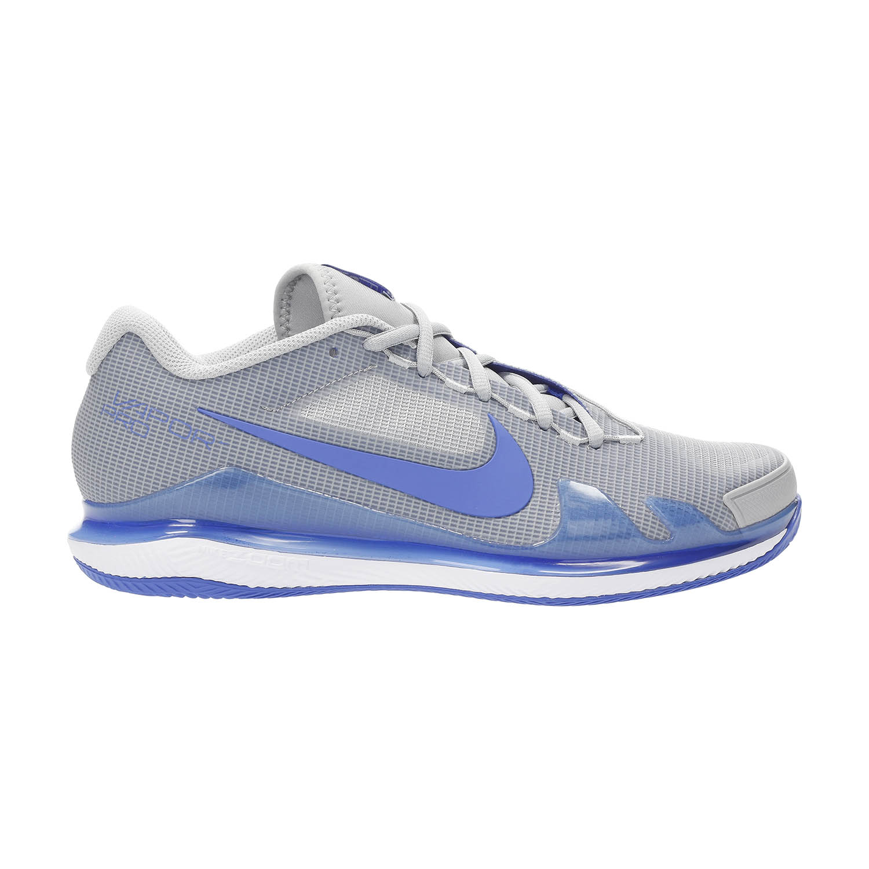 Nike Court Air Zoom Vapor Pro Clay - Light Smoke Grey/Hyper Royal/White