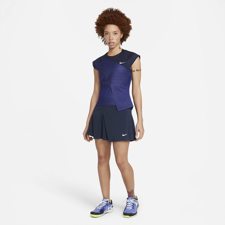 Nike Court Dri-FIT ADV Slam Skirt - Obsidian/White