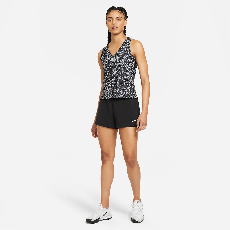 Nike Court Victory Tank - Black/White