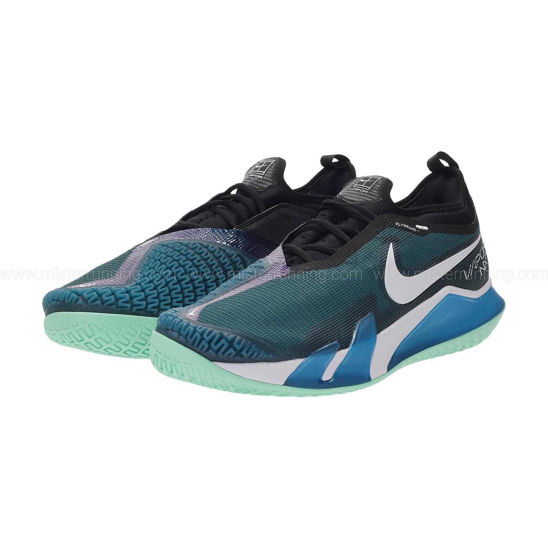 Nike React Vapor NXT HC - Dark Teal Green/White/Black/Green Glow