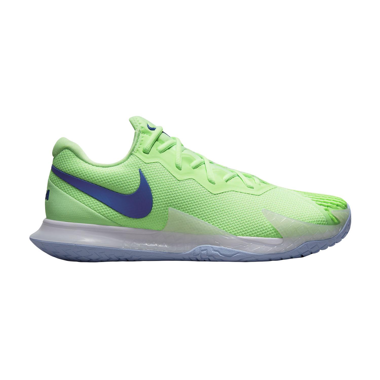 Nike Air Zoom Vapor Cage 4 Rafa HC - Lime Glow/Hyper Blue White