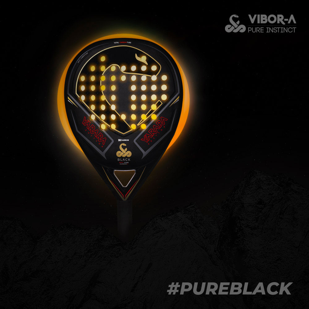Vibor-A Yarara Black Edition Padel - Black