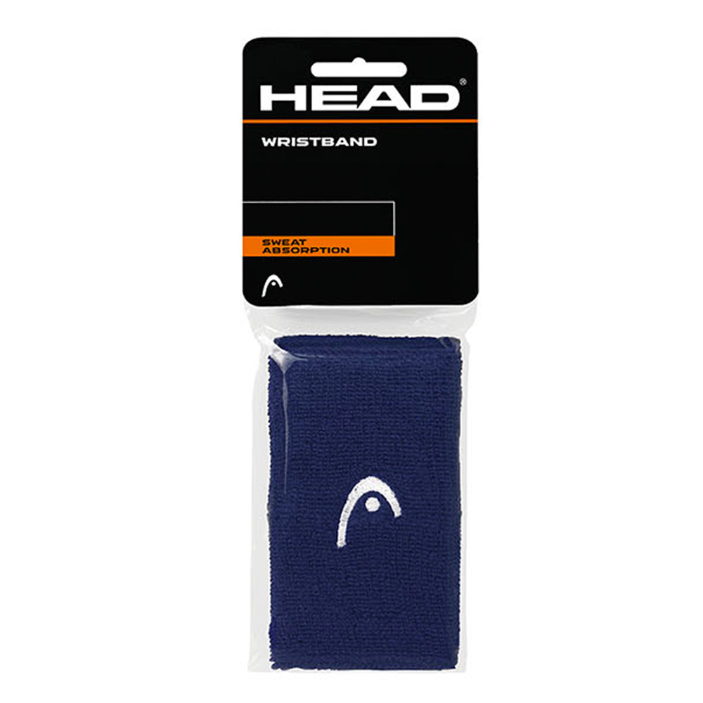 Head 5in Wristband - Navy/White