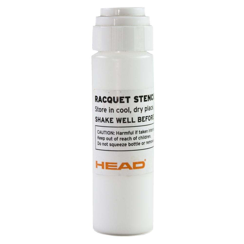 Head Stencil Ink - White