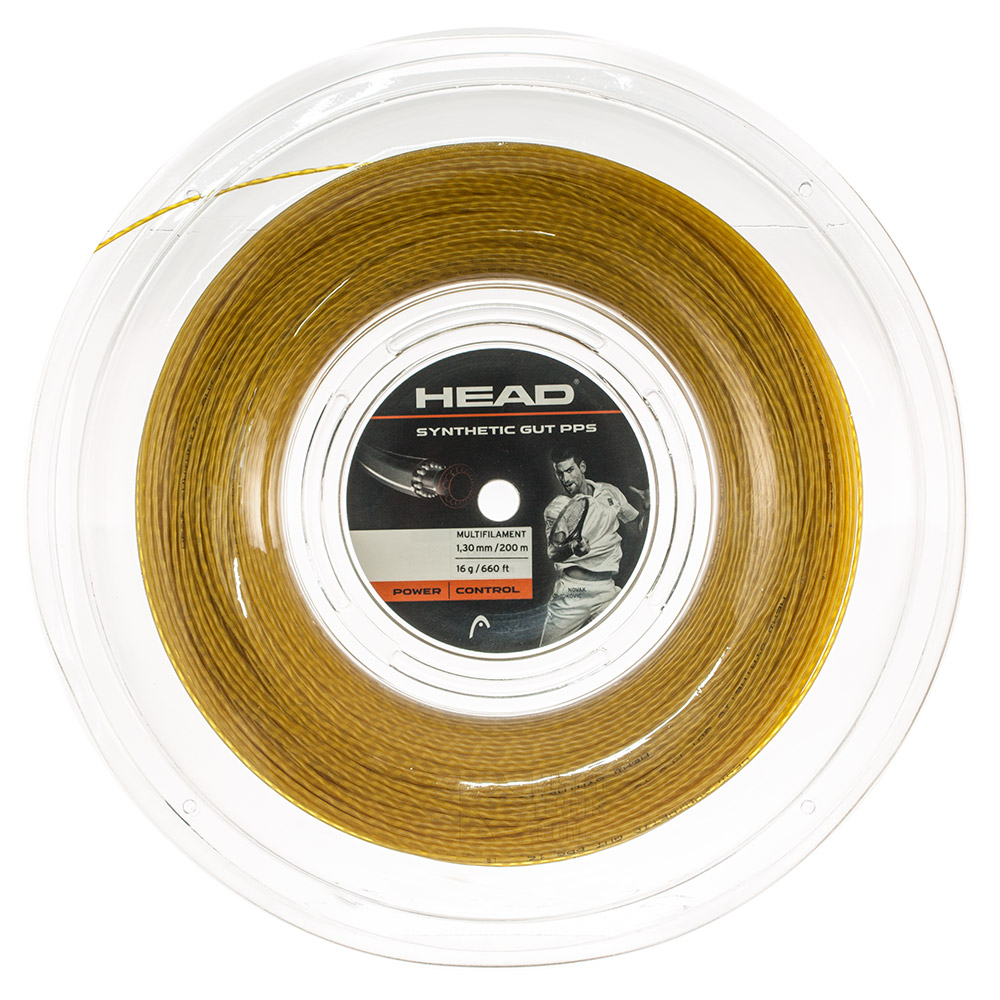 Head Synthetic Gut PPS 1.30 200 m Reel - Gold