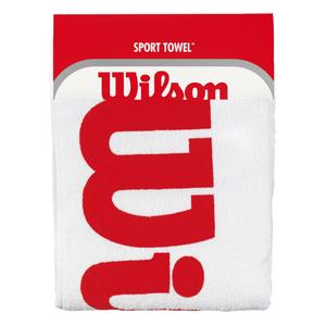 Wilson Sport Towel - White/Red