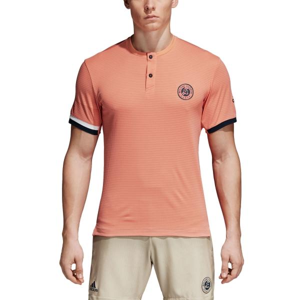 Adidas Roland Garros Climachill T-Shirt - Peach CE1408