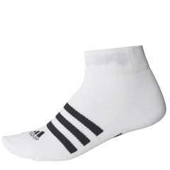Adidas Adidas Ten ID Ankle Socks  White/Black  White/Black CE8133