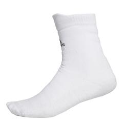 Tennis Socks Adidas Alphaskin Crew Socks  White/Black CV7673
