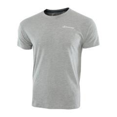 Tennis Polo and Shirts Babolat Boy Core TShirt  Grey 3BS180143002