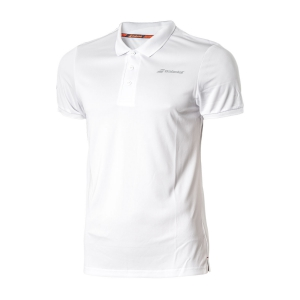 Polos y Camisetas de Tenis Babolat Boy Core Club Polo  White 3BS180211000