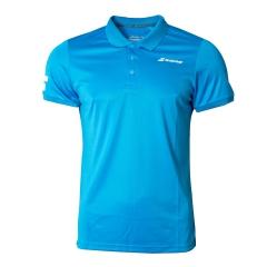 Tennis Polo and Shirts Babolat Boy Core Club Polo  Blue 3BS180214013