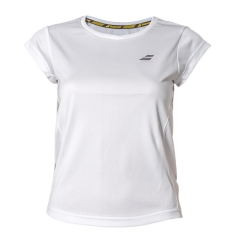 Babolat Babolat Girl Core Flag Club TShirt  White  White 3GS180111000