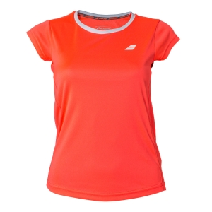 Top y Polos Niña Babolat Girl Core Flag Club TShirt  Fluo Pink 3GS180115005