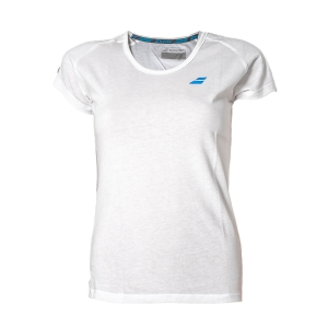 Top y Polos Niña Babolat Girl Core TShirt  White 3GS180121000