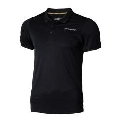 Men's Tennis Polo Babolat Core Club Polo  Black 3MS180212000