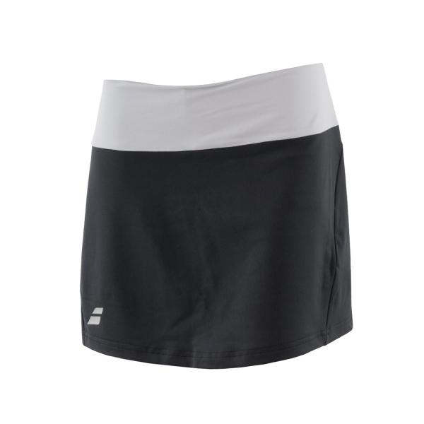 8663455e48 Babolat Core Women's Tennis Long Skirt - Black/Grey