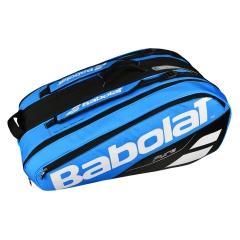 Tennis Bag Babolat Pure x 12 Bag 2018  Blue/Black/White 751169136