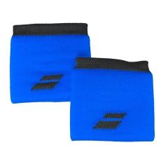 Tennis Head and Wristbands Babolat Logo Wristband  Blue/Dark Grey 5US182614024