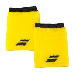 Tennis Head and Wristbands Babolat Logo Jumbo Wristband  Yellow/Black 5US182627001